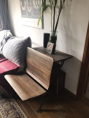 A.H Andrews & Co Chicago Antique School Desk for Sale in Seattle, WA