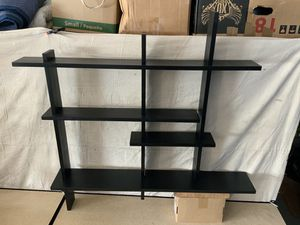 Wall mounted knick knack display shelving unit for Sale in Tavares, FL