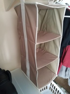 Clothes Hanging Organizer Closet Space Saver for Sale in La Jolla, CA