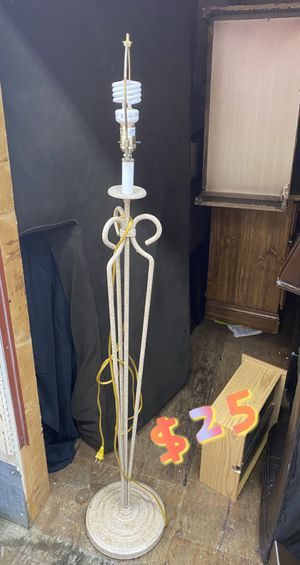 Tall lamp for Sale in Lynchburg, VA