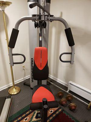 Weider Pro 6900 Home Gym - Red/Black, Original Owner. for Sale in Salem, NH