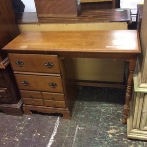 Small wooden desk perfect for kids room for Sale in Bellingham, MA