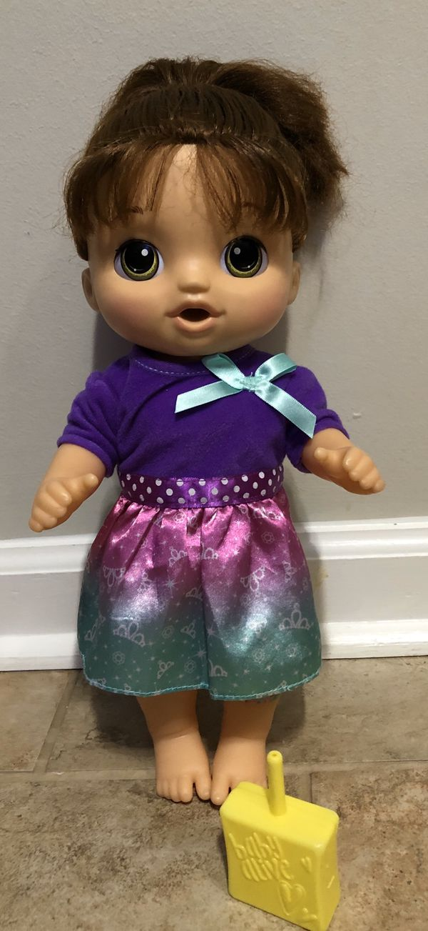Talking baby alive doll