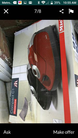 Brand new never used Miele canister vacuum cost $600 asking for $175 brand new still in box thanks for Sale in Rockville, MD