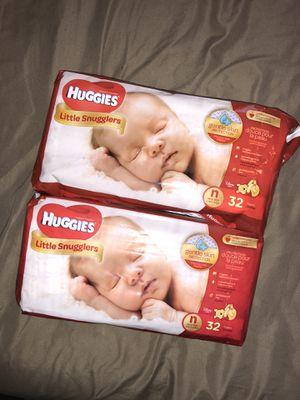 Huggies Newborn Diapers for Sale in Medford, MA