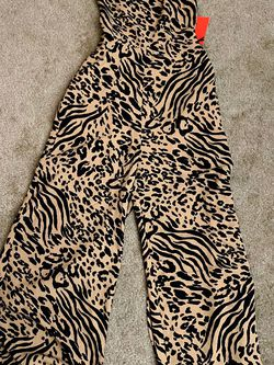 NEW Leopard Print Jumpsuit for Sale in Fresno,  CA