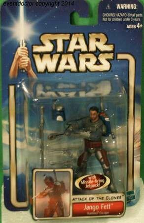 Star Wars Attack of the Clones Action Figure Jango Fett for Sale in Pulaski, TN