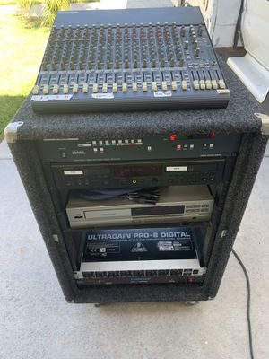 Audio Rack for Rec or Dj for Sale in Fontana, CA