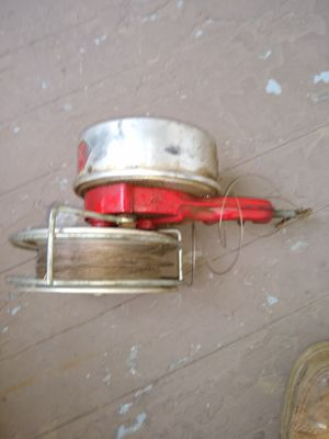 Rare Vintage Antique Schaller's Automatic Trolling Chugging Reel Made in ALGONAC MICHIGAN for Sale in CORNWALL Borough, PA