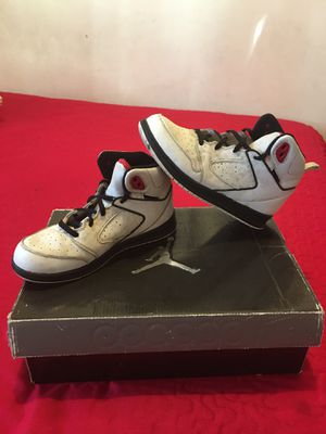 "Authentic "" Jordan"" Sport Style Basketball Shoes great Condition Size 31/2 for Sale in Los Angeles, CA"