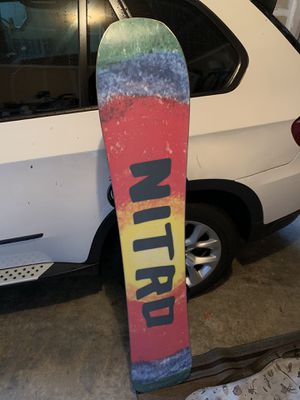 Nitro mountain snowboard for Sale in Lynnwood, WA
