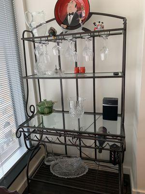 Wine rack - indoor/outdoor furniture for Sale in Seattle, WA