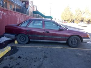 1990 Ford Taurus for sale for parts. Has a V-6 engine and.almost new tires for Sale in Westminster, CO