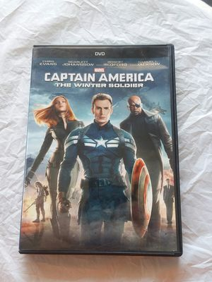 Captain America The Winter Soldier Dvd for Sale in Surprise, AZ