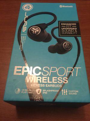 JLabs Epic Sport Bluetooth Wireless Earbuds New for Sale in Phoenix, AZ