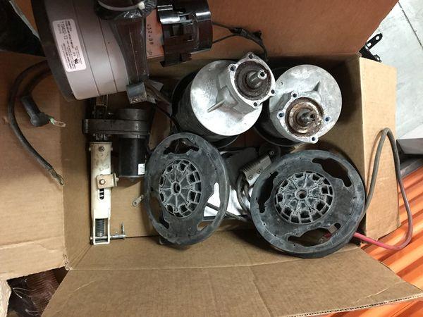 Advance Warrior ST Floor Scrubber parts