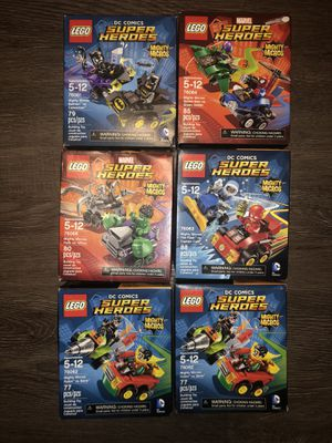 Lego superheroes mighty micos for Sale in Columbus, OH