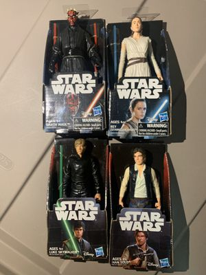 Hasbro Star Wars Action Figures for Sale in Palm Beach Shores, FL