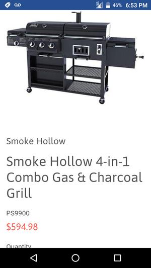 BBQ grill smoke hollow for Sale in Phoenix, AZ
