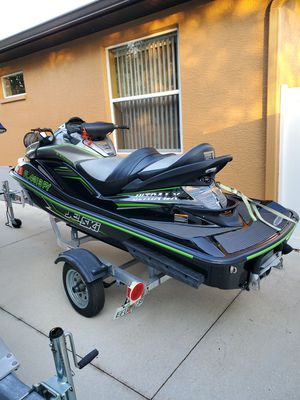 2015 kawasaki ultra lx Jet ski , like new, with warranty for Sale in Bradenton, FL