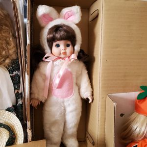 New Porcelain Collector Dolls $10 Each for Sale in West Palm Beach, FL