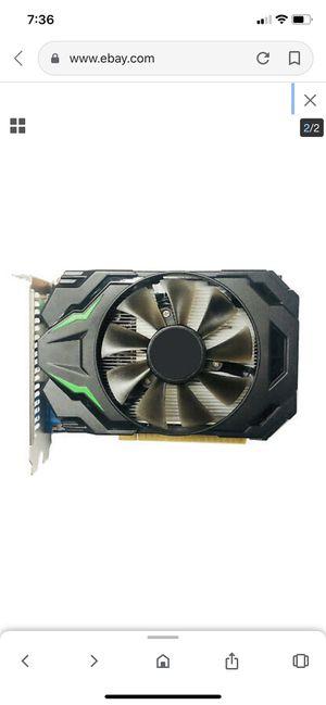 graphics card GTX650 128bit 1GB DDR5 desktop PC HD games video card for Sale in Riverside, CA