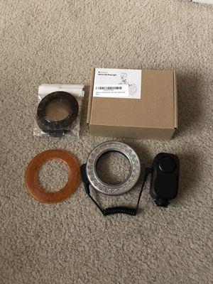 Macro LED light ring for DSLR cameras for Sale in Sunnyvale, CA