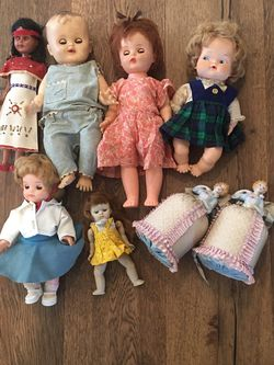 1950's Doll Collection for Sale in Huntington Beach,  CA