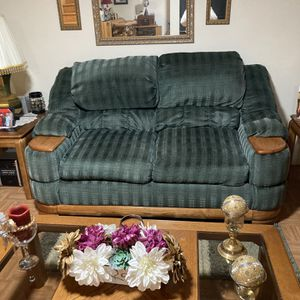 Green Couch, Love Seat land Recliner for Sale in Windsor Mill, MD