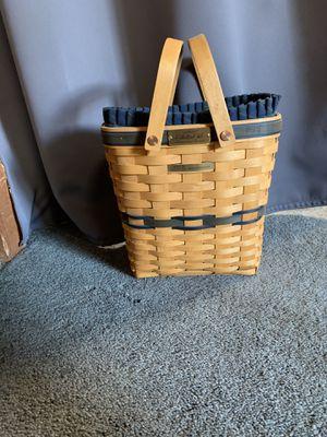 Longaberger 2003 membership basket for Sale in Puyallup, WA