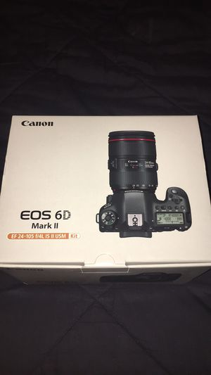 Canon EOS 6D Mark II Camera w/ EF 24-105 f/4L IS II USM lens for Sale in Golden, CO