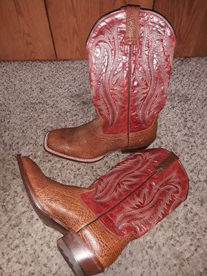Brand New Mens Work Cowboy boots Botas ARIAT Texaco red Size 10 for Sale in Scottsdale, AZ