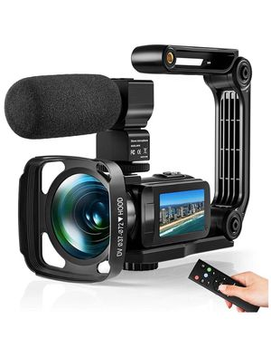 Video Camera Ultra 2.7K Camcorder HD 36MP Digital Vlogging Recorder with IR Night Vision and 16X Digital Zoom Equipped with Touchable Screen, Externa for Sale in Eastvale, CA