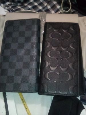Two mens wallet coach, LV for Sale in San Jose, CA