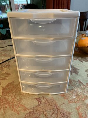 Plastic drawer small for Sale in Longmont, CO