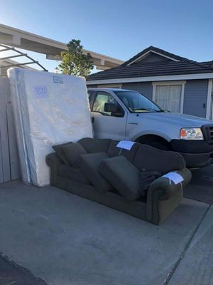 Free Sofa and Matrass for Sale in Poway, CA