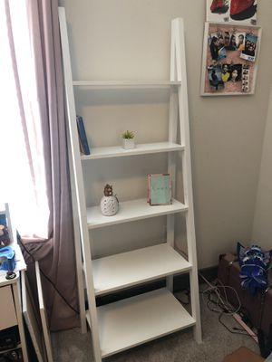 White Ladder Shelf for Sale in Grand Prairie, TX