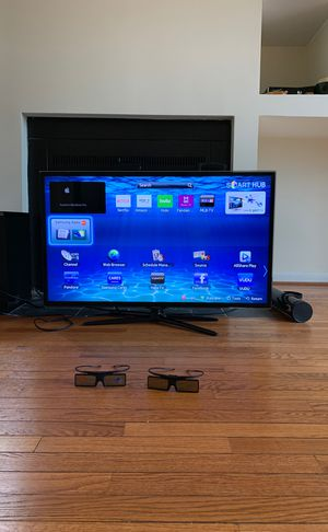 40 inch 1080p 3D Samsung Smart TV w/ 3D Glasses for Sale in Washington, DC