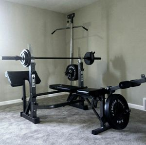 Olympic weight bench new for Sale in San Gabriel, CA