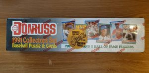 BASEBALL CARDS 1991 Donruss Collectors Set 792 Cards FACTORY SEALED for Sale in Marysville, WA