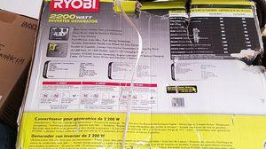 Ryobi 1800/2200 generator new in shabby box for Sale in Princeton, MN