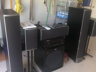 High-end Home Theater AV Marantz Receiver and Polk Audio Speakers for Sale in Fort Myers,  FL