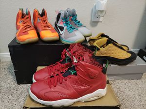 Retro air jordan 6/13 LeBron 9 for Sale in Houston, TX