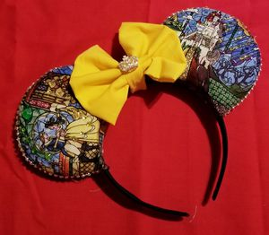 Beauty And The Beast Disney Ears for Sale in Houston, TX
