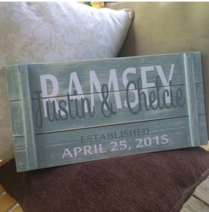 Wedding signs for Sale in Durham, NC