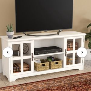White TV stand for Sale in Washington, DC