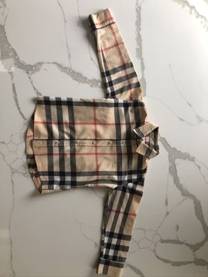 Boys Burberry Shirt 4Y for Sale in Schaumburg, IL