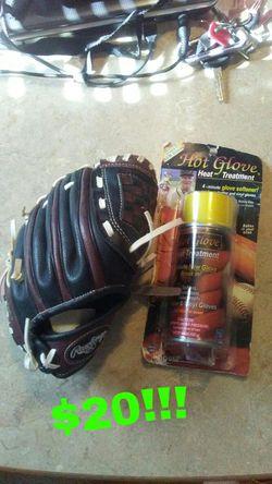 Rawlings baseball glove for Sale in Creedmoor,  NC