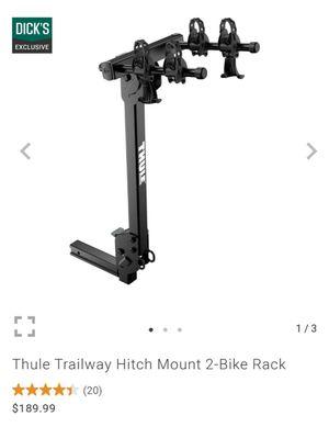 Thule 2 bike rack car hitch mount for Sale in Mill Creek, WA