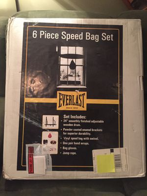 Everlasting Speed Bag 6 Piece Set for Sale in Jersey City, NJ